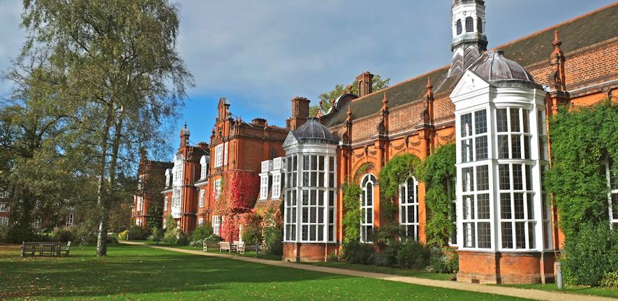 Newnham College Front Photo